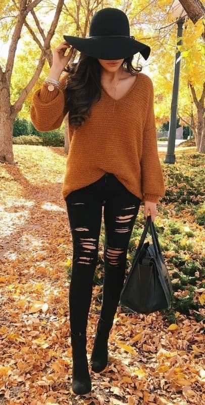fall knitted sweaters
