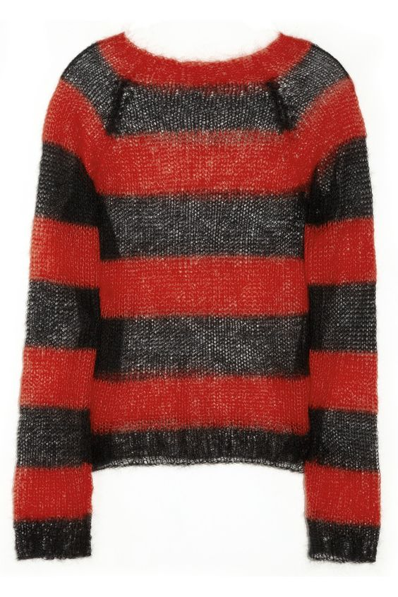 Freddy Kruger sweater knit for halloween