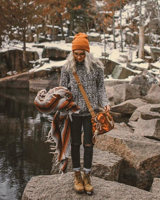 cozy fall sweaters with outfit ideas for women
