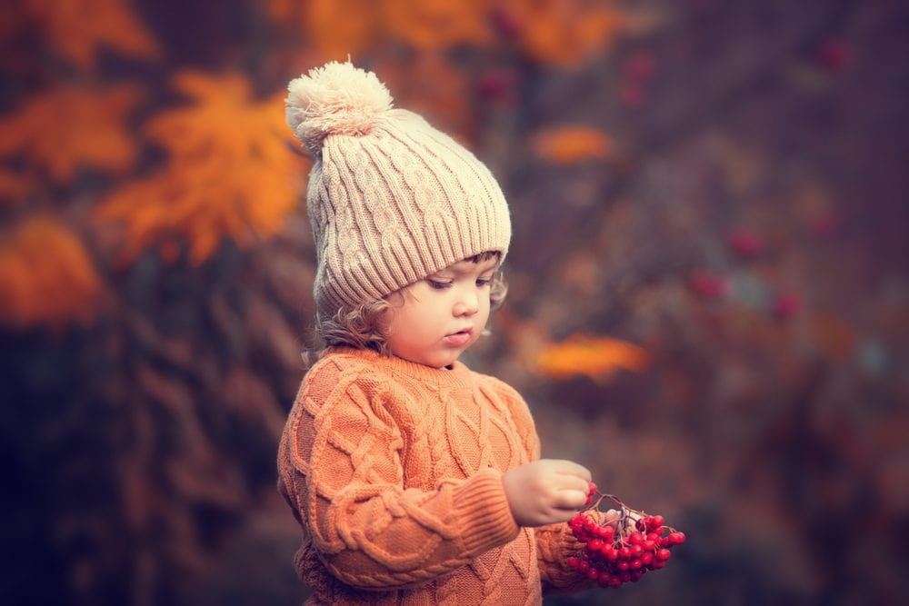 Fall knits for kids like cabled hats and sweaters