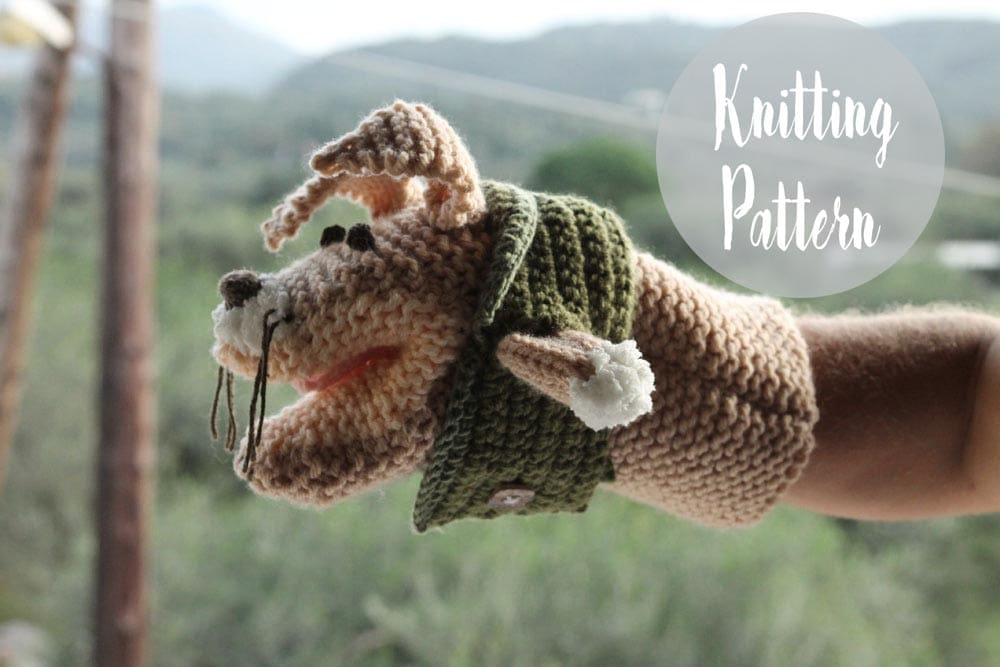 Animal Hand Puppet Free Knitting Pattern | Free Knitting Patterns ...