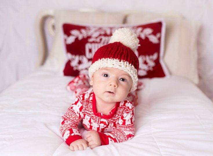 Baby Santa Hat - Knitting Pattern