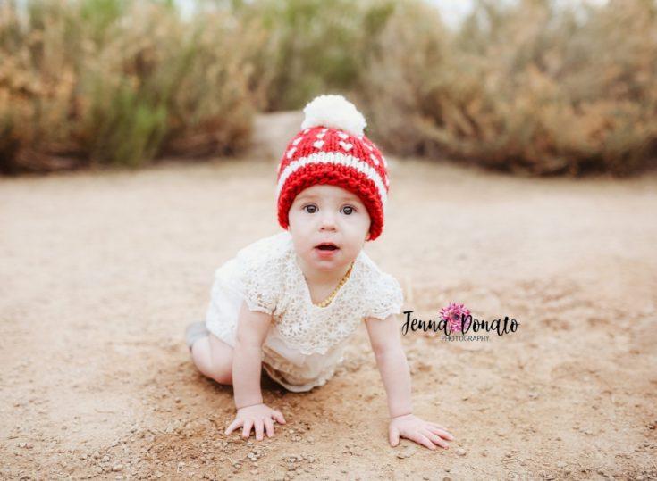 Christmas Baby Hat Knitting Pattern