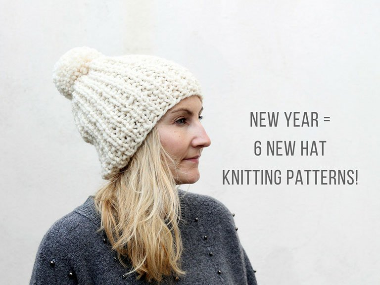 New Hat Knitting Patterns For The New Year Free Knitting Patterns