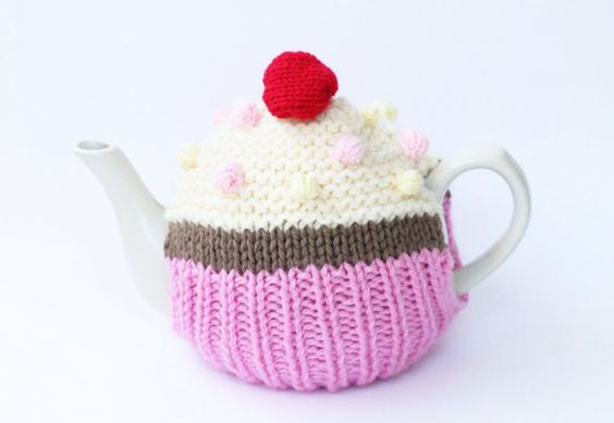 Cupcake Tea Cosy Knitting Pattern Free Knitting Patterns Handy