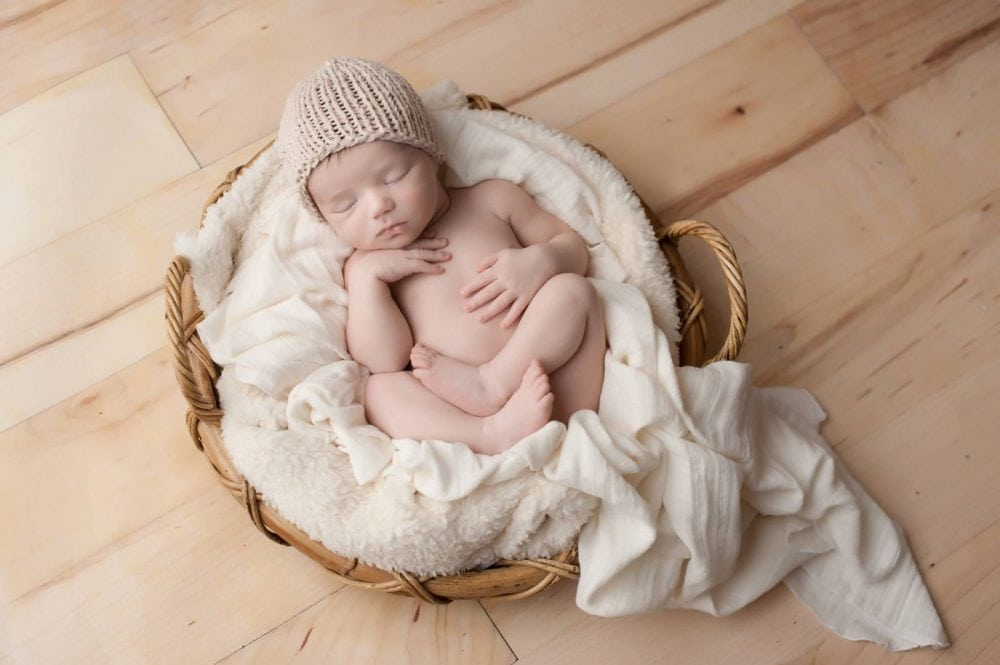 easy newborn hat