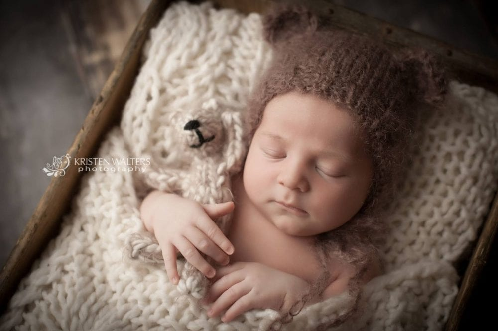 teddy bear bonnet