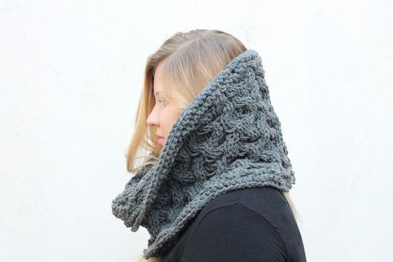 Cable Cowl Free Knitting Pattern The Melina Free Knitting
