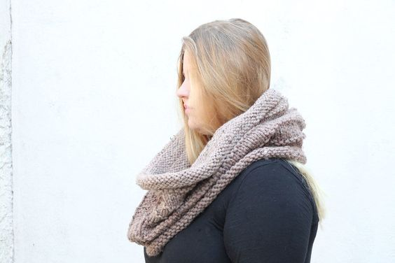 oversized snood
