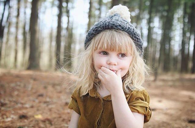 kids grey hat