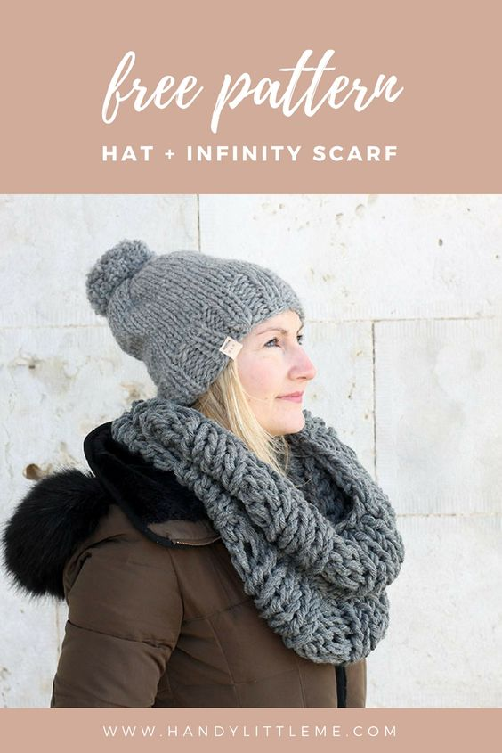 grey hat and cowl