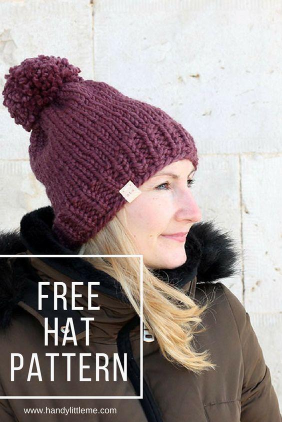 The Sofia Hat Knitting Pattern Free Knitting Patterns Handy