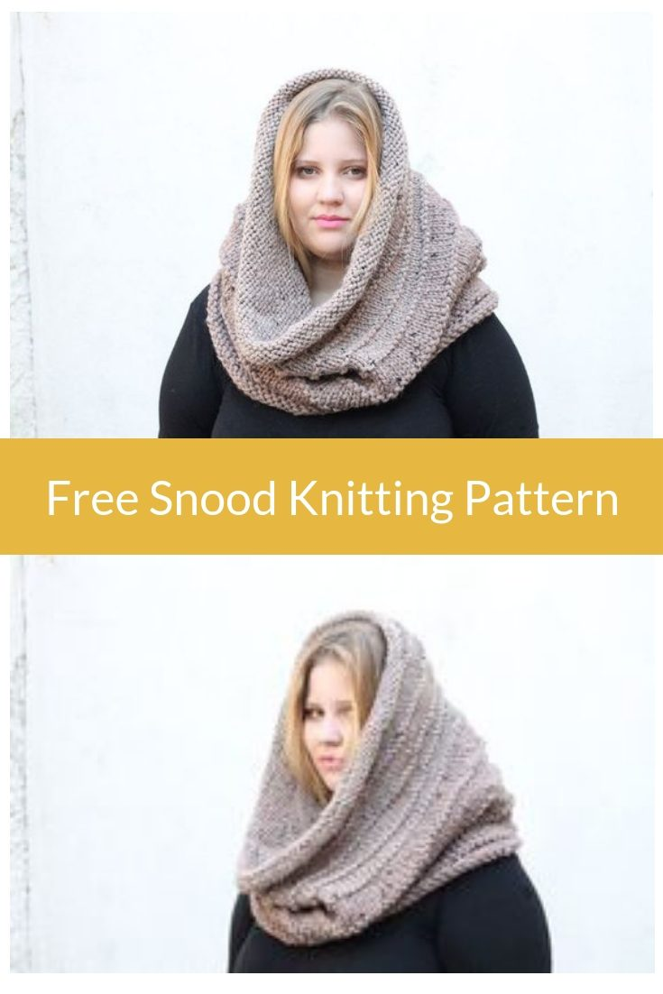 The Kallisto Snood Knitting Pattern