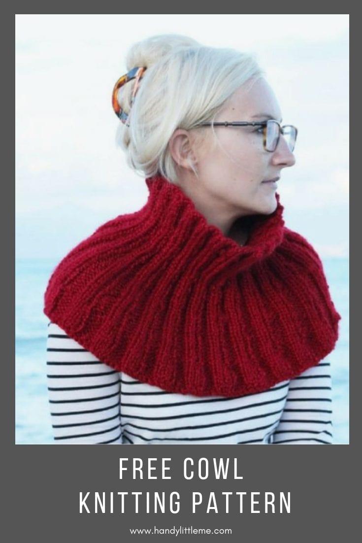 The Pandora Cowl Free Knitting Pattern