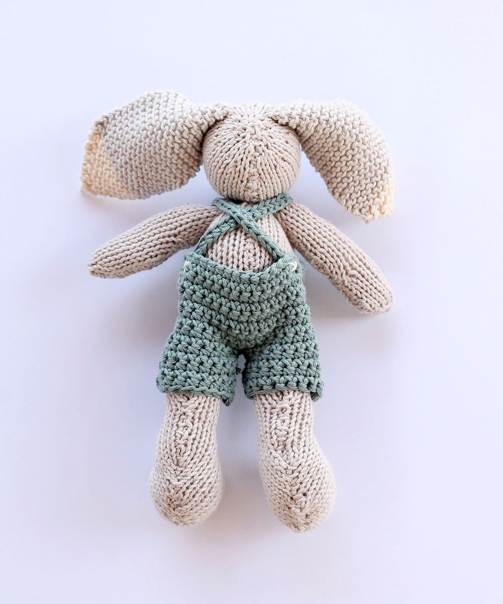Baby bunny toy pattern