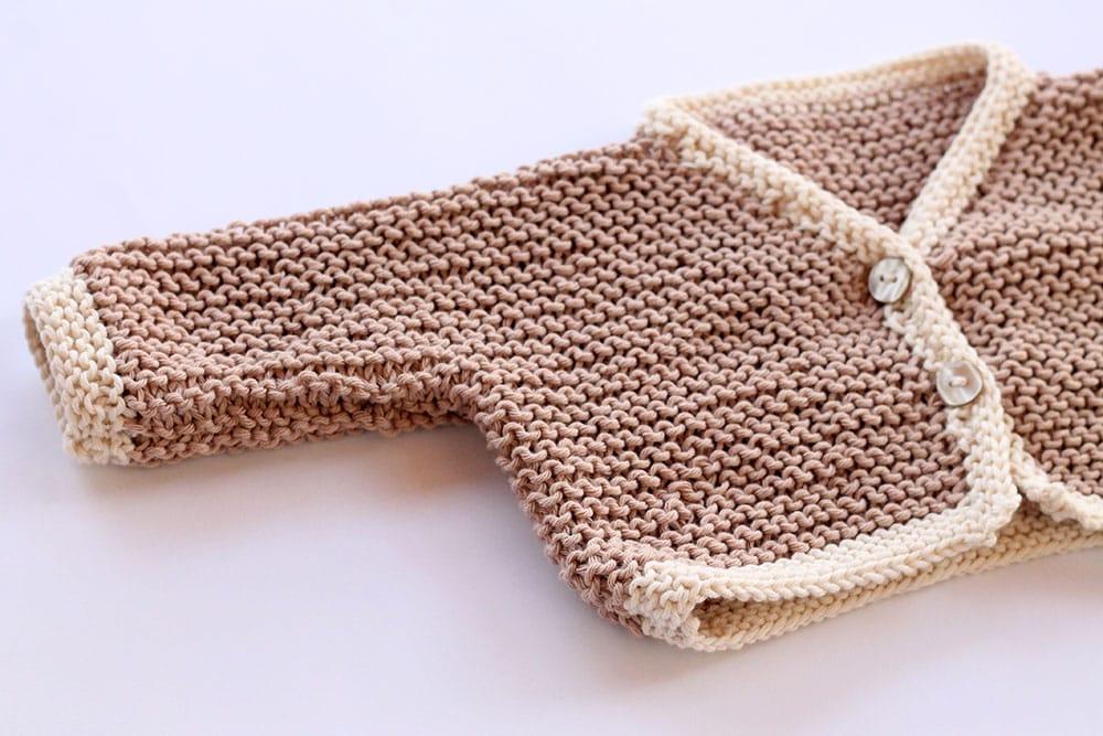 Baby cardigan pattern free