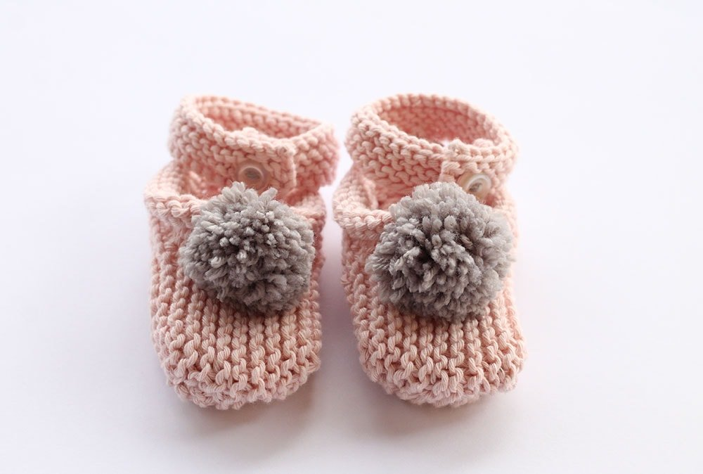 Baby Slippers Knitting Pattern Free Knitting Patterns Handy