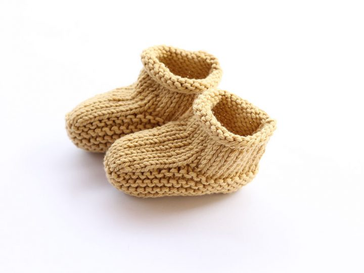 Knitted Baby Booties Free Knitting Patterns Handy Little Me