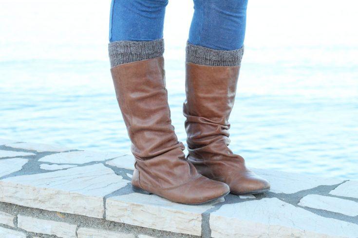 Easy Boot Cuffs Free Knitting Pattern