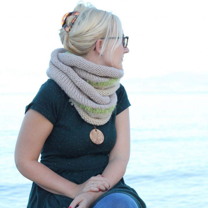 Infinity Scarf Pattern The Philomena Free Knitting Patterns