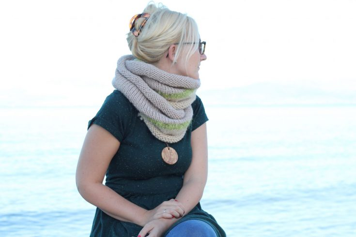 The Philomena Infinity Scarf Pattern