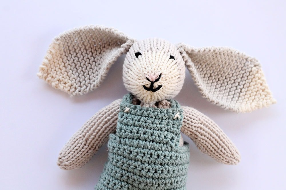 Bunny Knitting Pattern Free Knitting Patterns Handy Little Me