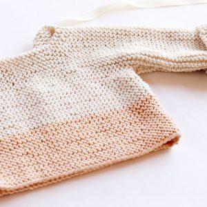 Spring baby sweater pattern