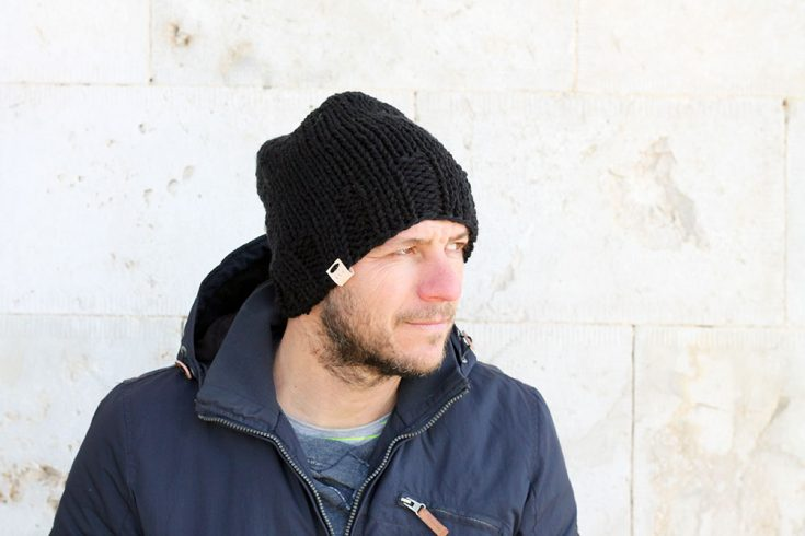 Beanie Hat Knitting Pattern The Diomedes Free Knitting Patterns