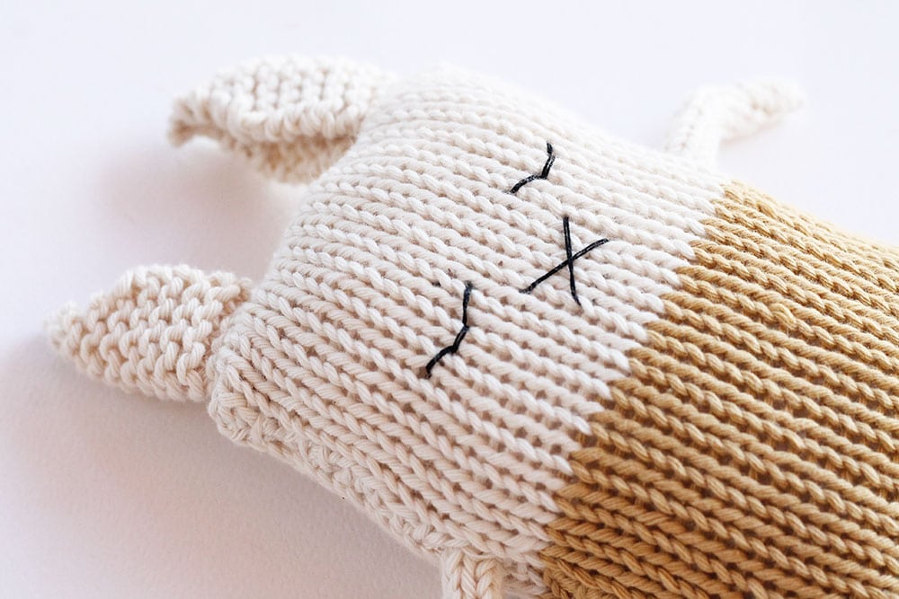 bunny baby soft toy pattern