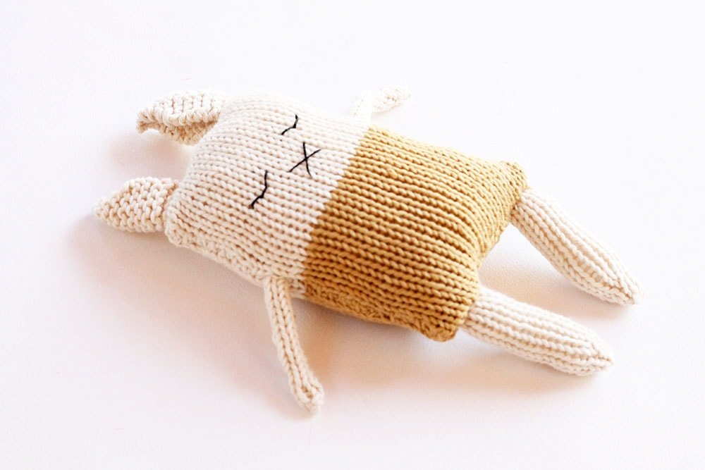 bunny soft toy knitting pattern
