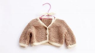 Easy Baby Cardigan Pattern
