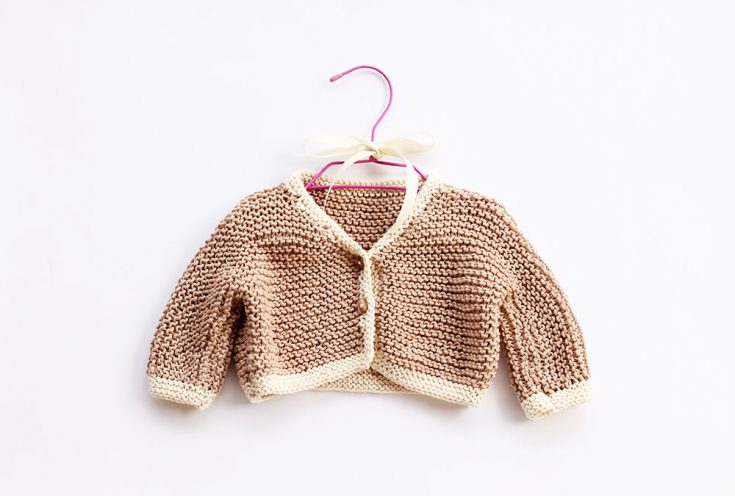 Chunky Baby Cardigan Knitting Pattern