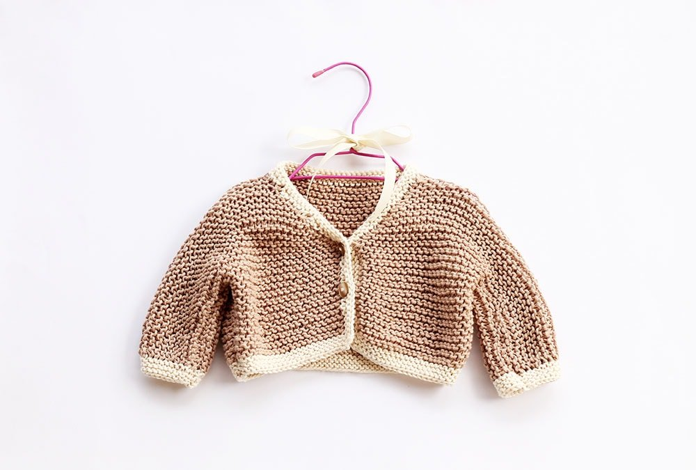 Easy Baby Cardigan Knitting Pattern Free Knitting Patterns Handy