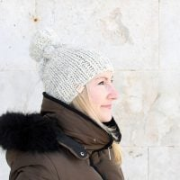 Knit Hat Patterns |The Athena Hat