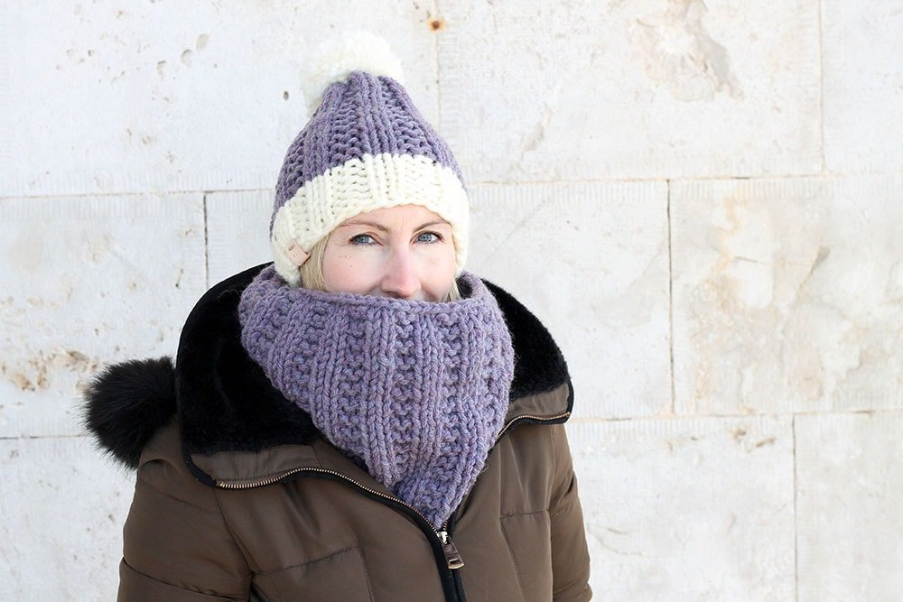 chunky cowl knitting pattern