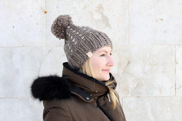chunky womens bobble hat free pattern