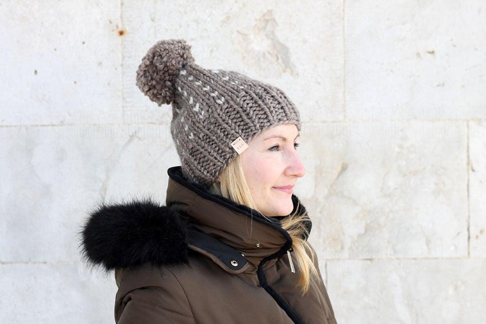 e4d2070553c Free Knitting Patterns. Chunky Beanie Hat Pattern