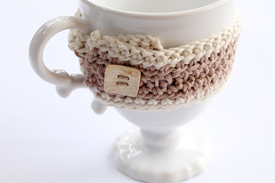 Crochet Mug Cozy Free Pattern Free Knitting Patterns Handy Little Me