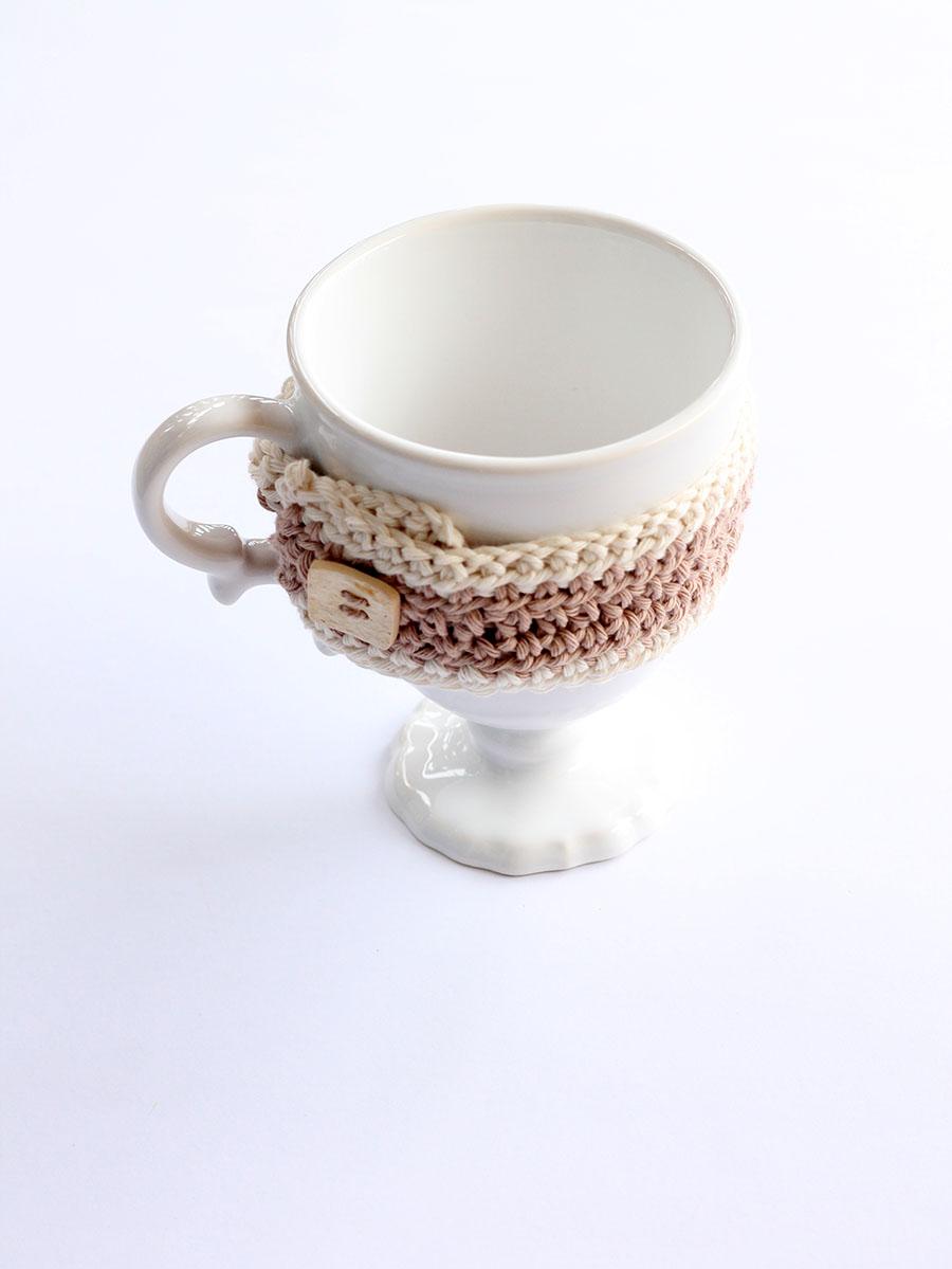 crochet mug cozy pattern