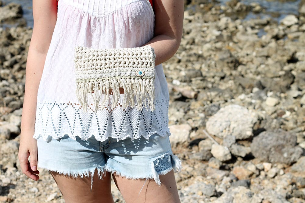 Crochet Fringe Bag Free Patterns Free Knitting Patterns Handy