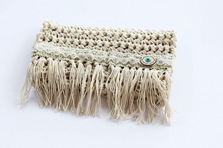 Crochet Fringe Bag - Free Patterns