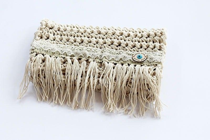 crochet clutch pattern.