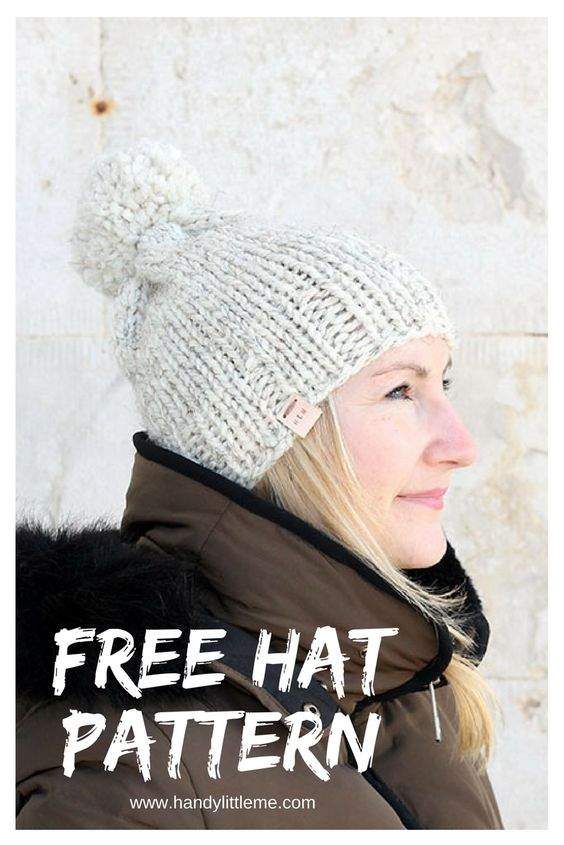 The Athena Hat Knitting Pattern | Free Knitting Patterns | Handy ...