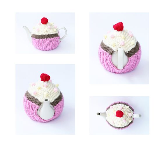 cupcake tea cosy