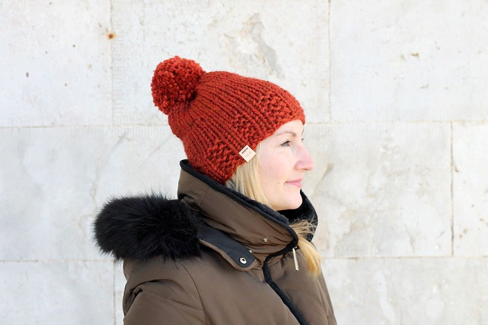 Knitted Hat Patterns The Phaidra Free Knitting Patterns Handy