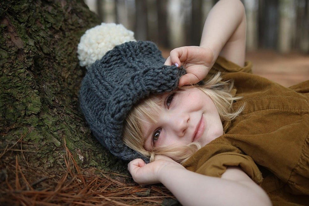Free Kids Beanie Hat Knitting Pattern Handy Little Me
