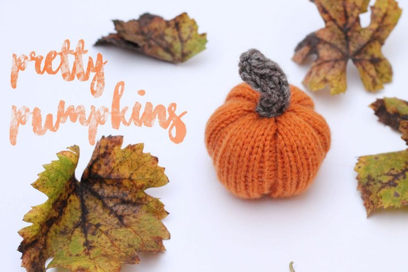 knitted pumpkin free pattern
