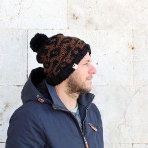 intarsia beanie hat pattern