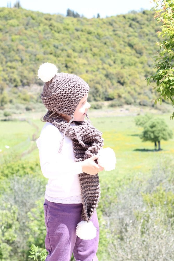kids winter hat set