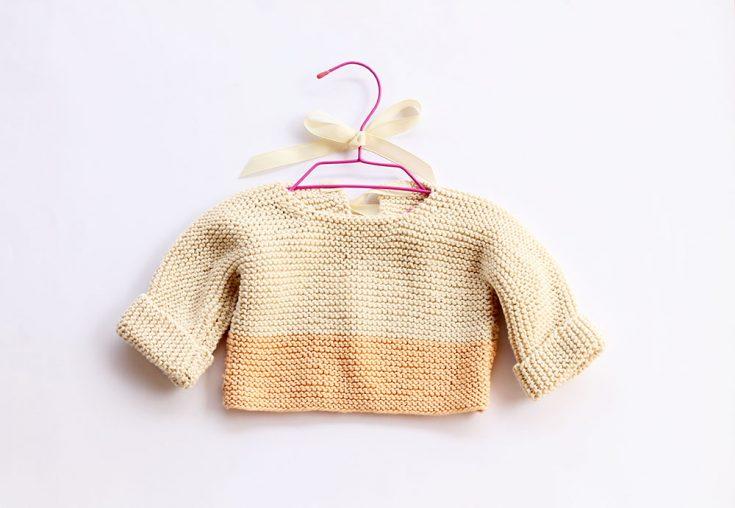 Baby Sweater Knitting Pattern